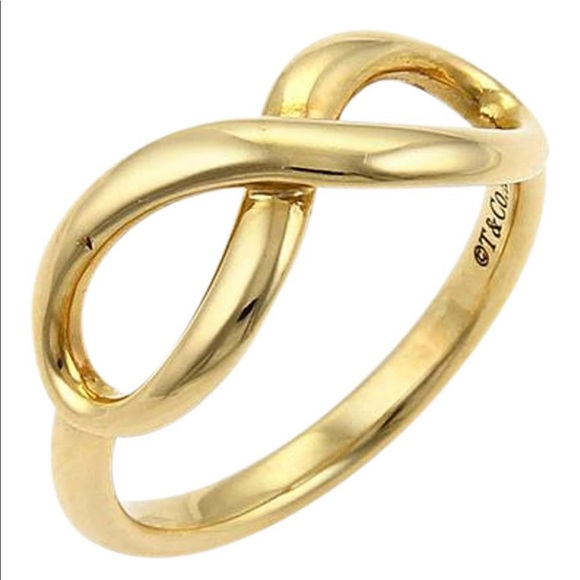 81d002510 Tiffany & Co. Jewelry | Tiffany Co Gold Infinity Ring | Poshmark